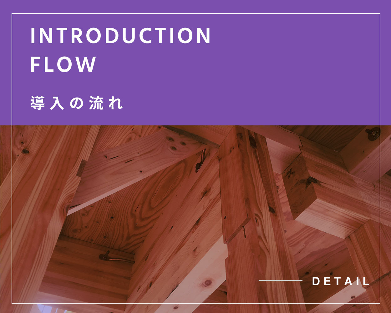 INTRODUCTION FLOW 導入の流れ