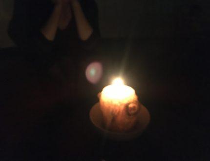 真夜中の地震 停電 避難