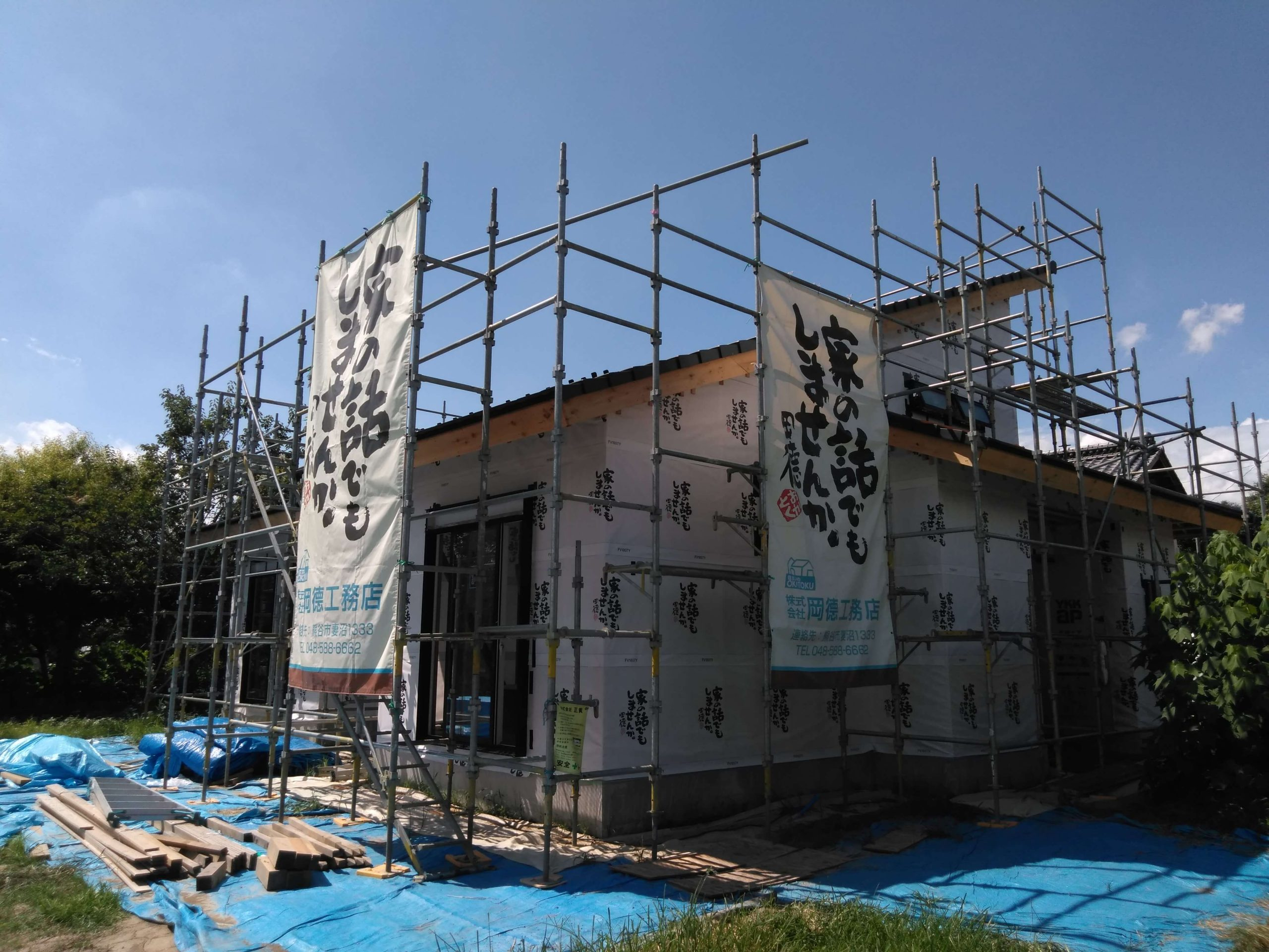 株式会社岡徳工務店様・M様邸【埼玉県】